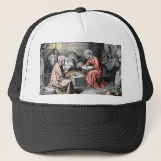 The birth of Christ Trucker Hat