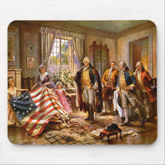 The Birth Of Old Glory - Circa 1917 Mouse Pad