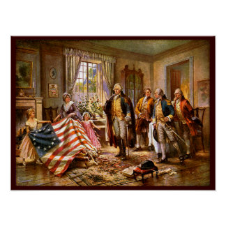 """The Birth Of Old Glory"" Poster"