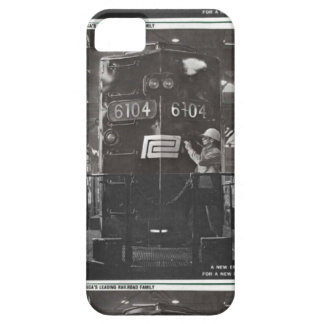 The Birth of The Penn Central Railroad iPhone 5 Cases