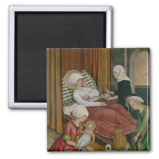 The Birth of the Virgin, c.1500 Fridge Magnet