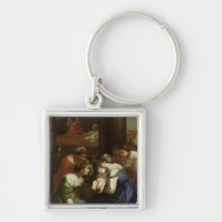 The Birth of the Virgin, c.1620 Keychain