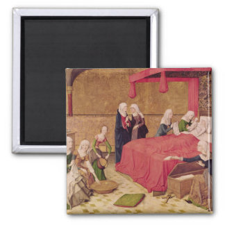The Birth of the Virgin Square Magnet
