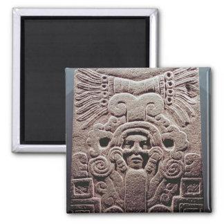 The Birth of Topiltzin , 800-1100 Square Magnet