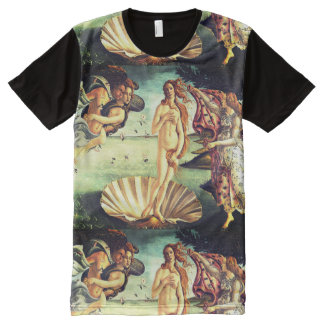 The Birth Of Venus All-Over Print T-Shirt