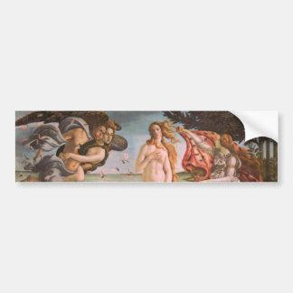The Birth of Venus Bumper Sticker