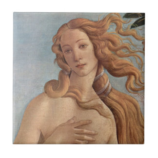 The Birth of Venus by Botticelli, Renaissance Art Ceramic Tile