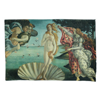 The Birth of Venus by Sandro Botticelli Pillowcase