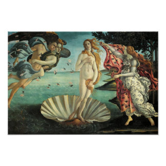 The Birth of Venus - Classic Art by Botticelli Poster