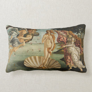The Birth of Venus cushion Botticelli art