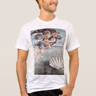 The Birth Of Venus Detail By Botticelli Sandro T-Shirt