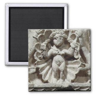 The Birth of Venus (limestone) Square Magnet