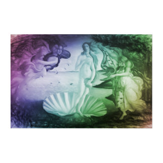 The Birth of Venus modern remake Acrylic Wall Art