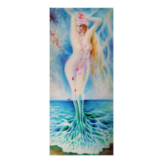 The birth of Venus Poster