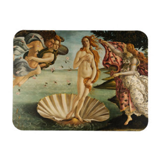 The Birth of Venus Rectangular Magnet