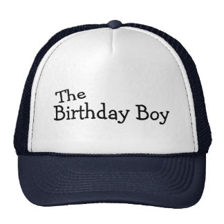 The Birthday Boy Hat