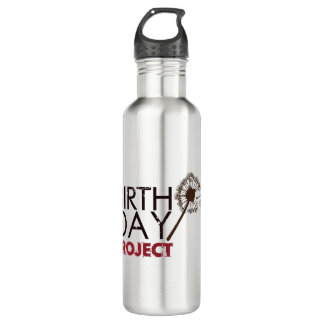 The Birthday Project Logo Water Bottle