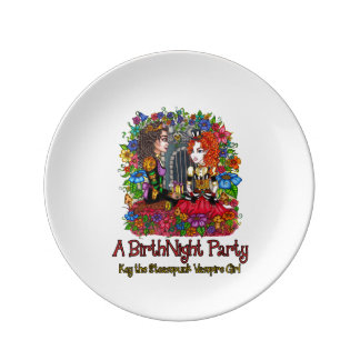 "The BirthNight Party 8"" Plate"