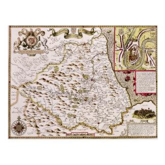The Bishoprick and City of Durham Postcard
