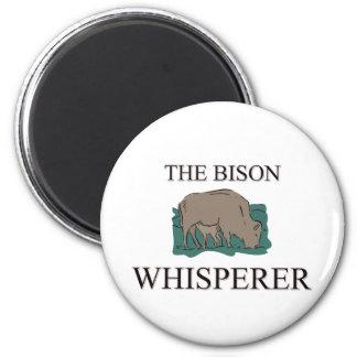 The Bison Whisperer Magnet