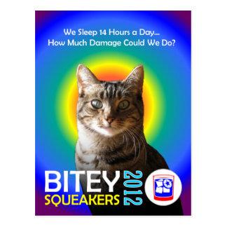 The Bitey/Squeakers Ticket (TM) Postcard 3
