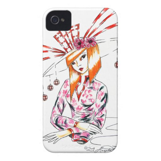 The Bizarre Oriental Hat iPhone 4 Cover