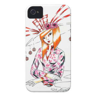 The Bizarre Oriental Hat iPhone 4 Cases