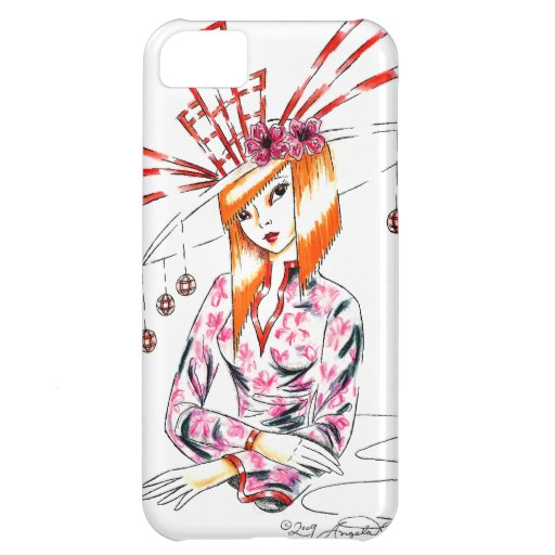 The Bizarre Oriental Hat iPhone 5C Covers