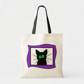 The Black Cat Budget Tote Bag
