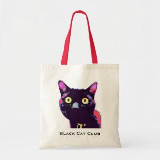 The Black Cat Club Tote Bag