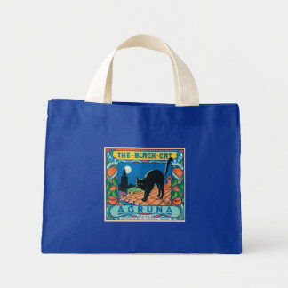 The Black Cat Mini Tote Bag