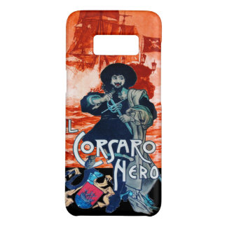 THE BLACK CORSAIR /Pirate Ship Battle In Red Case-Mate Samsung Galaxy S8 Case