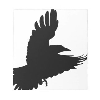 The Black Crow Notepad