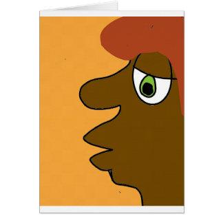 the black dude card