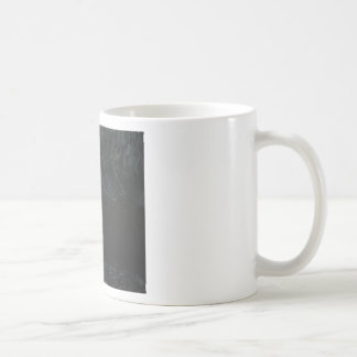 The Black Pond (black minimalism) Basic White Mug