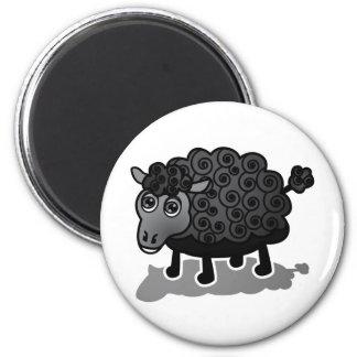 The Black Sheep Refrigerator Magnets
