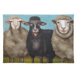 The Black Sheep Placemat