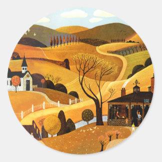 The Blacksmith's Shop Classic Round Sticker