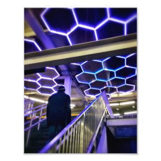 The Bleecker Street Subway Station Photo Print
