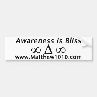 The Bliss Bumper Sticker