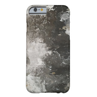 The Blizzard Abstract Gray and White Barely There iPhone 6 Case