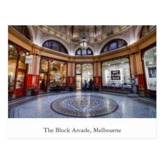 The Block Arcade, Melbourne, Victoria Post Cards