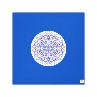 The Bloo Pixie - Bloo Mandala Canvas