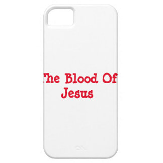 The Blood Of Jesus iPhone 5 Case