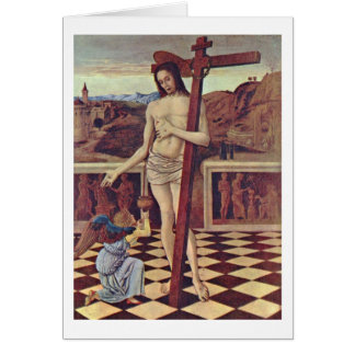 The Blood Of The Redeemer By Giovanni Bellini Card