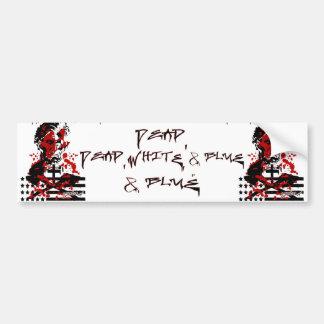 The Bloody Flag-Abraham Lincoln Car Bumper Sticker