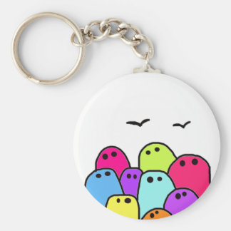 the bloubs keychain