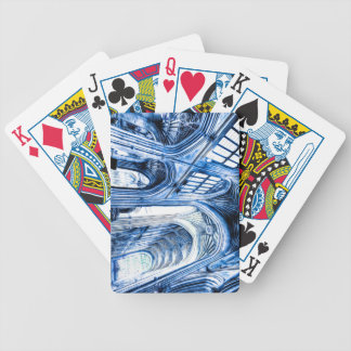 The Blue Abbey Bicycle Playing Cards