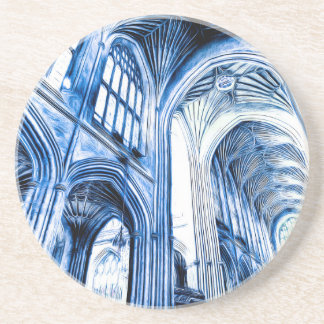 The Blue Abbey Coaster