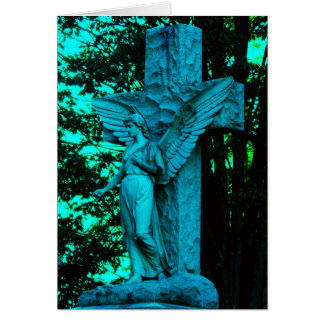 The Blue Angel and Cross Card